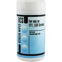 DCS UNIVERSAL SCREEN CLEANING WIPES TUB 100