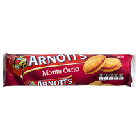 ARNOTTS BISCUITS MONTE CARLO 250GM