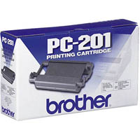 BROTHER PC-201 FAX CARTRIDGE AND ROLL