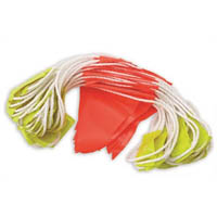 ZIONS BUNTING TRIANGLE DAY/NIGHT FLAGS HI VIS FLUORO 30M