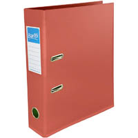 BANTEX LEVER ARCH FILE 70MM A4 TERRACOTTA