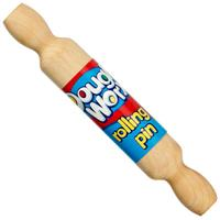 COLORIFIC WOODEN ROLLING PIN