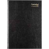 CUMBERLAND 2020 APPOINTMENT DIARY 2 PAGES TO DAY 15 MINUTE A4 BLACK