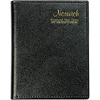 CUMBERLAND 2019-2020 FINANCIAL YEAR POCKET DIARY WEEK TO VIEW CASEBOUND 125 X 90MM BLACK