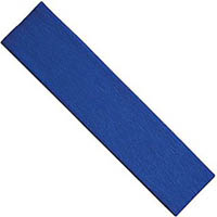COLOURFUL DAYS CREPE PAPER 2400 X 500MM ROYAL BLUE