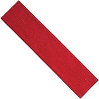 COLOURFUL DAYS CREPE PAPER 2400 X 500MM FLAME RED