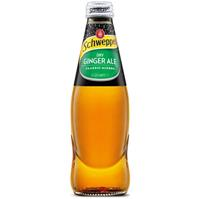 SCHWEPPES DRY GINGER ALE BOTTLE 300ML CARTON 24