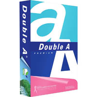 DOUBLE A A4 SMOOTHER COPY PAPER 80GSM WHITE PACK 500 SHEETS