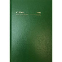 COLLINS 2019-2020 FINANCIAL YEAR DIARY DAY TO PAGE A5 GREEN