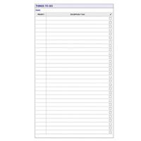 DEBDEN DAYPLANNER PERSONAL EDITION REFILL THINGS TO DO