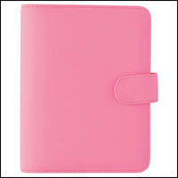 DEBDEN PERSONAL DAYPLANNER PU SNAP CLOSURE 172 X 96MM PINK