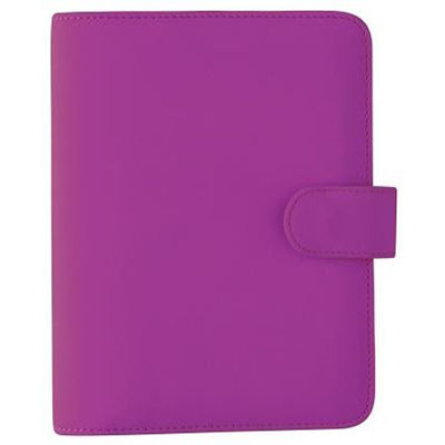 Image for DEBDEN PERSONAL DAYPLANNER PU SNAP CLOSURE 172 X 96MM PURPLE from Axsel Office National