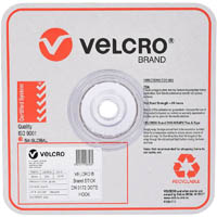 VELCRO BRAND STICK-ON HOOK DOTS 22MM WHITE PACK 900