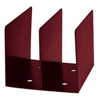 ESSELTE MOULDED SWS BOOK RACK BURGUNDY