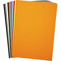 RAINBOW COVER PAPER 125GSM A4 ASSORTED PACK 250