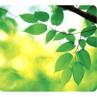 FELLOWES RECYCLED OPTICAL MOUSE PAD LEAVES