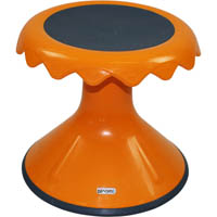 SYLEX BLOOM STOOL 310MM HIGH ORANGE