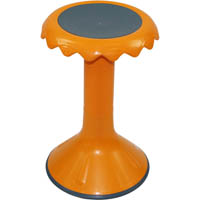 SYLEX BLOOM STOOL 450MM HIGH ORANGE