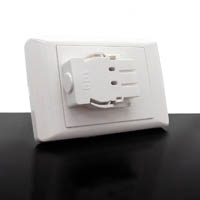 RAPIDLINE WALL STARTER PLATE SINGLE WHITE