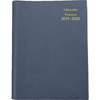 COLLINS 2019-2020 VANESSA FINANCIAL YEAR DIARY WEEK TO VIEW A4 ASSORTED