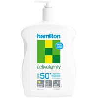 HAMILTON ACTIVE FAMILY SUNSCREEN SPF50+ 1L