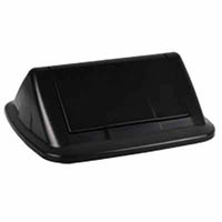 ITALPLAST GREENR SWING TOP LID BLACK