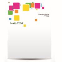 CUSTOM LH100-2000 PRINT LETTERHEAD 100GSM (210 X 297MM) FULL COLOUR PRINT ONE SIDE