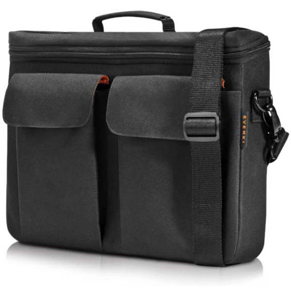 Image for EVERKI RUGGEDIZED EVA LAPTOP BRIEFCASE 14 INCH BLACK from Mackay Business Machines (MBM)