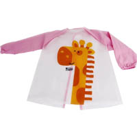 MICADOR EARLY START ART SMOCK PINK MEDIUM