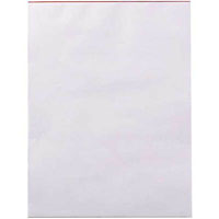 WRITER BANK PAD PLAIN 50GSM 100 SHEETS 125 X 75MM WHITE