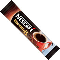 NESCAFE BLEND 43 INSTANT COFFEE 1.7G STICKS PACK 1000