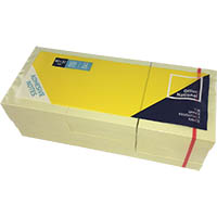 OFFICE NATIONAL PREMIUM NOTES 40 X 50MM YELLOW PACK 12