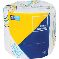 INITIATIVE TOILET TISSUE 2 PLY 400 SHEET ROLL