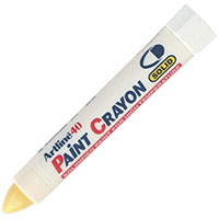 ARTLINE 40 PERMANENT PAINT CRAYON YELLOW