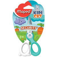 MAPED KIDICUT SAFETY SCISSORS 120MM ASSORTED