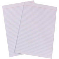 QUILL BANK PLAIN PAD 60GSM 90 LEAF FOOLSCAP WHITE
