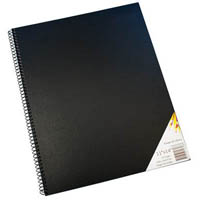 QUILL VISUAL ART DIARY 110GSM 120 PAGE 11 X 14 INCH WHITE