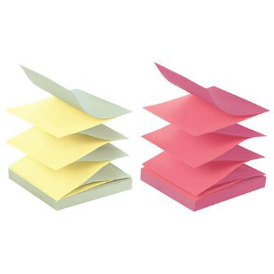 Image for POST-IT R330-U-ALT POP-UP NOTES 76 X 76MM ALTERNATING ULTRA COLOURS PACK 12 from Mackay Business Machines (MBM)
