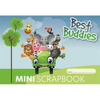 BEST BUDDIES MINI SCRAPBOOK 100GSM 64 PAGE