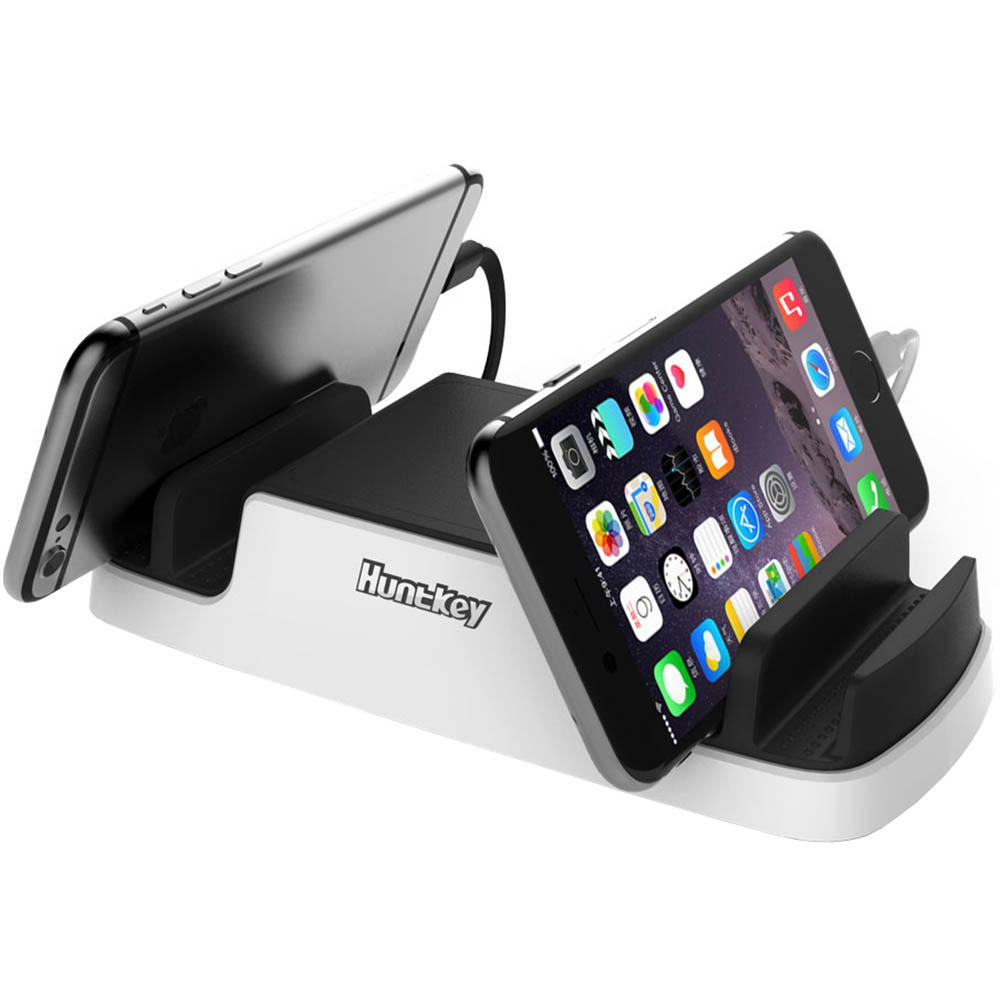 Image for HUNTKEY SMARTU 4-PORT 40W USB CHARGING DOCK BLACK/WHITE from Connelly's Office National