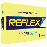 REFLEX COLOURS A3 COPY PAPER 80GSM YELLOW PACK 500 SHEETS