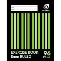 OLYMPIC E896 EXERCISE BOOK RULED 8MM 55GSM 96 PAGE A4