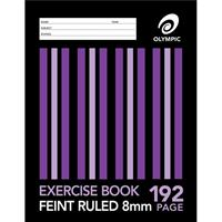 OLYMPIC E819 EXERCISE BOOK RULED 8MM 55GSM 192 PAGE A4