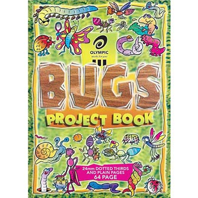 Olympic Bugs Project Book 24Mm Dotted Thirds 64 Page 335