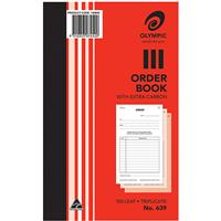 OLYMPIC NO.639 ORDER BOOK CARBON TRIPLICATE 100 LEAF 200 X 125MM