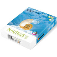 NAUTILUS A4 SUPER COPY PAPER 80GSM WHITE PACK 500 SHEETS