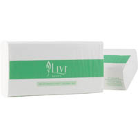 LIVI BASICS ULTRASLIM TOWEL 1PLY 150 SHEET CARTON 16