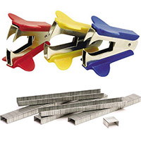 Staples and Staple Removers