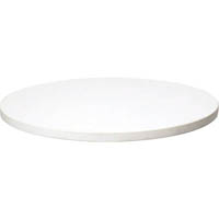 RAPID SPAN TABLE TOP ROUND 1200MM WHITE