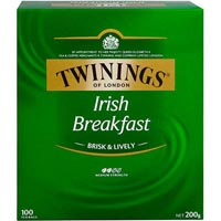 TWININGS TEABAGS IRISH BREAKFAST PACK 100